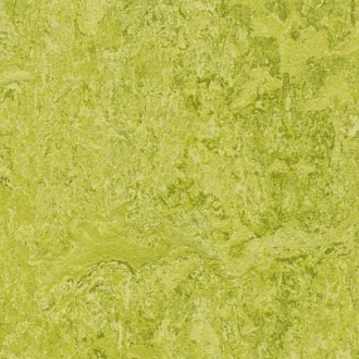 Chartreuse Marmoleum Linoleum Click Single Tile Floating Flooring - Green Home Floors