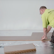 Forbo Click Foam Padding Underlayment for Floating Floors