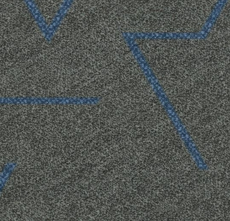 Forbo Flotex Triad Plank - Blue Line 131012